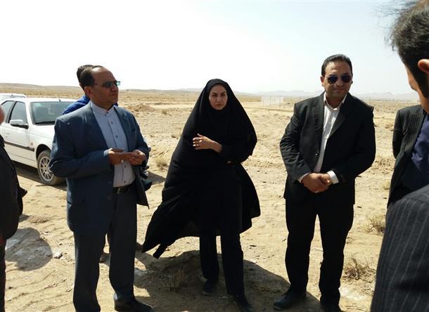 بازديد از نيروگاه خورشيدي 10 مگاواتي در حال ساخت شهرستان خوسف