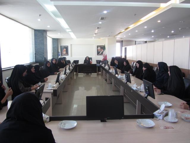 ديدار بانوان استانداري با معاون استاندار به مناسبت عيد غدير خم